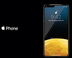 New Concept Rendering the iPhone Notch to the Left