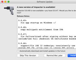 Saurik Updates Cydia Impactor with Bug Fixes and Improvements