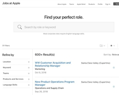 Apple Launches Redesigned Jobs Website: 'Do More Than You Ever Thought Possible'