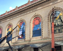 Apple Getting Set up for Oct. 30 iPad Pro & Mac Event at Howard Gilman Opera House