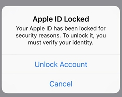 Apple IDs Locked for Unknown Reasons for a Number of iPhone Users