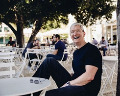 Tim Cook tells CNN's Christiane Amanpour he Came Out to Show Kids it's OK to be Gay