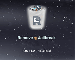 ElecTh0rRemover - Remove unc0ver & Electra Jailbreak with One Click