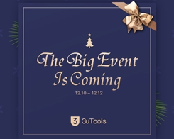 The Big Event of 3uTools is Coming