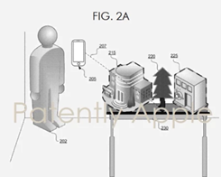 Apple Patent Shows off Immersive AR Maps Projected From iPhone