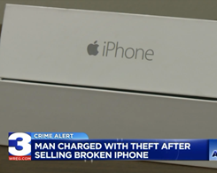 ​Man Allegedly Gives Woman a Sock When She Paid for an iPhone