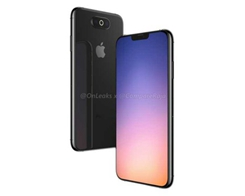 Another Render of a Potential 2019 iPhone Design with Triple-lens Camera Emerges