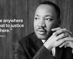 Apple's Homepage Again Honors Dr. Martin Luther King Jr.