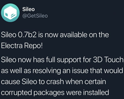 New Sileo Beta Adds 3D Touch Support, Fixes App Crashing Issue