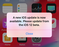 How to Block iOS Update Popup for iOS 12.1.1 Beta 3?