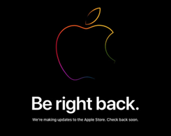 Online Apple Store Down ahead of Rumored iPad & iMac Updates