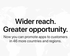 App Store Search Ads Rolls Out to 46 More Countries