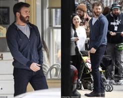 Chris Evans Spotted on Set of Upcoming Apple TV Show