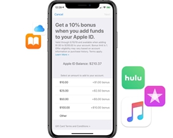 Apple Offering 10% Bonus iTunes Credit When Adding Funds to Your Apple ID