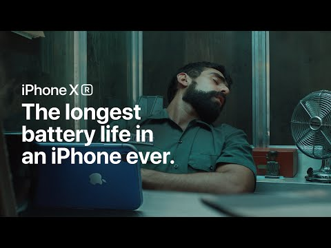 Apple Promotes iPhone XR's Battery Life in New Ad: 'You'll Lose Power Before It Will'