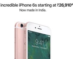 Apple Pushes 'Incredible' iPhone 6s With new 'Made in India' Marketing Campaign