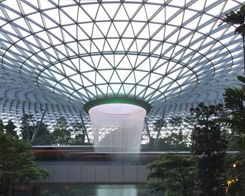 Jewel Changi Airport Photo Walk Launches Second Apple Store in Singapore
