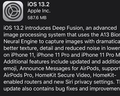 iOS 13.2 now Available With Deep Fusion, new Emoji, Siri Privacy Settings, More