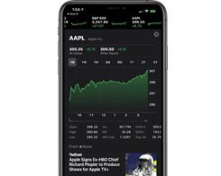Apple Stock Sets New All-Time High, Closes at $300 Per Share
