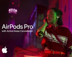 Apple Highlights AirPods Pro With Active Noise Cancellation in New Ad