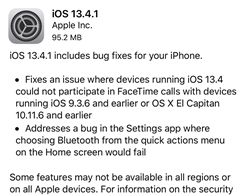 Apple Releases iOS 13.4.1: Surprise Update With Important Fixes