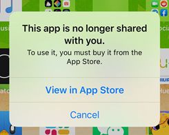 'This App is No Longer Shared' iOS Bug Preventing Some Apps From Opening