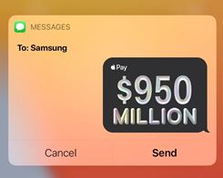 Apple Pays Samsung an Estimated $950 Million for Missing OLED Panel Purchase Targets