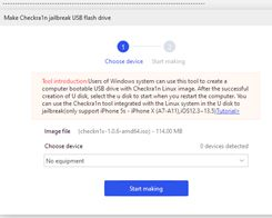 Tutorial: How to Make Checkra1n Jailbreak U Disk Using 3uTools