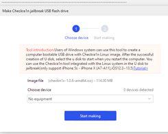 Tutorial: How to Make Checkra1n Jailbreak U Disk Using 3uTools