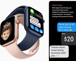 Apple Watch Family Setup Includes 'Apple Cash Family' to Let Kids Use Apple Pay