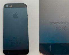 Prototype iPhone 5s Shown in Black and Slate Gray Colors