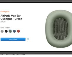 Apple Now Selling AirPods Max ear Cushions Separately