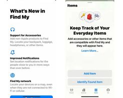 Find My adds 'Items' Tab in Latest iOS 14.5 Beta