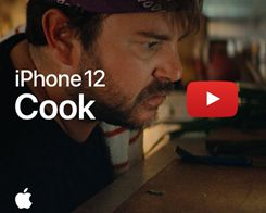 Apple Promotes iPhone 12 'Ceramic Shield' Display In New 'Cook' Ad