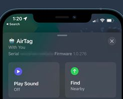 Apple has Released Slightly Revised AirTag Firmware