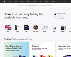 Apple's Website Gains Redesigned Store Section and Dedicated 'Store' Tab