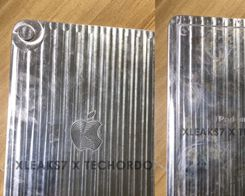 Aluminum Cutout Allegedly Based on iPad Mini 6 Showcases Thinner Bezels, Larger Camera, Touch ID in