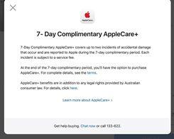 Apple's Australian Customers Get 7 Days of AppleCare+ For Free