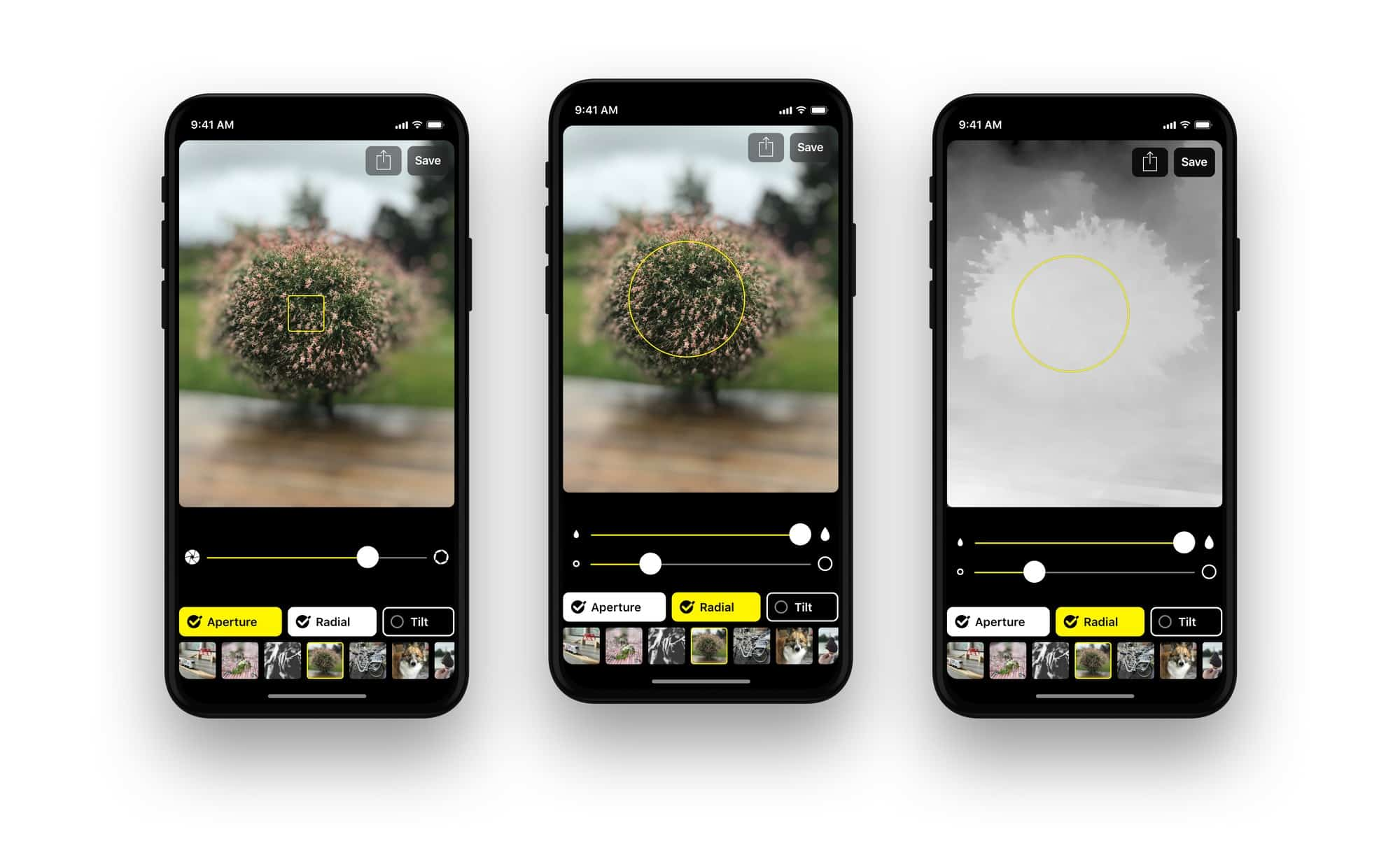 what iphone app can you use to blur pictures